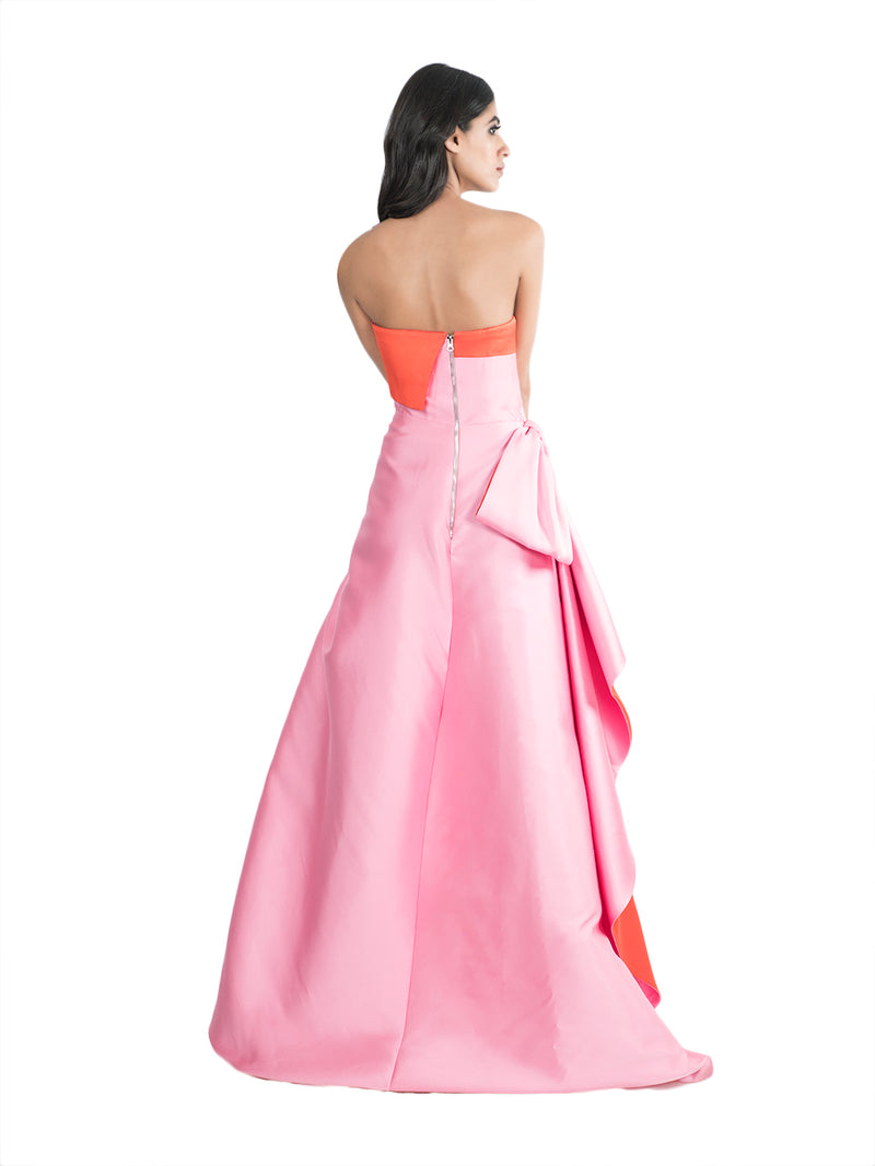 Rosado Gown