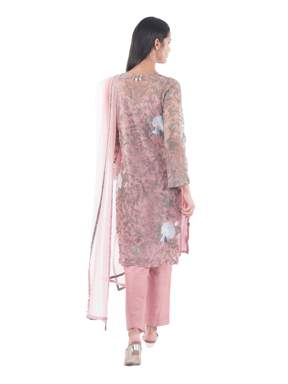 PEAFOWL KURTA SET
