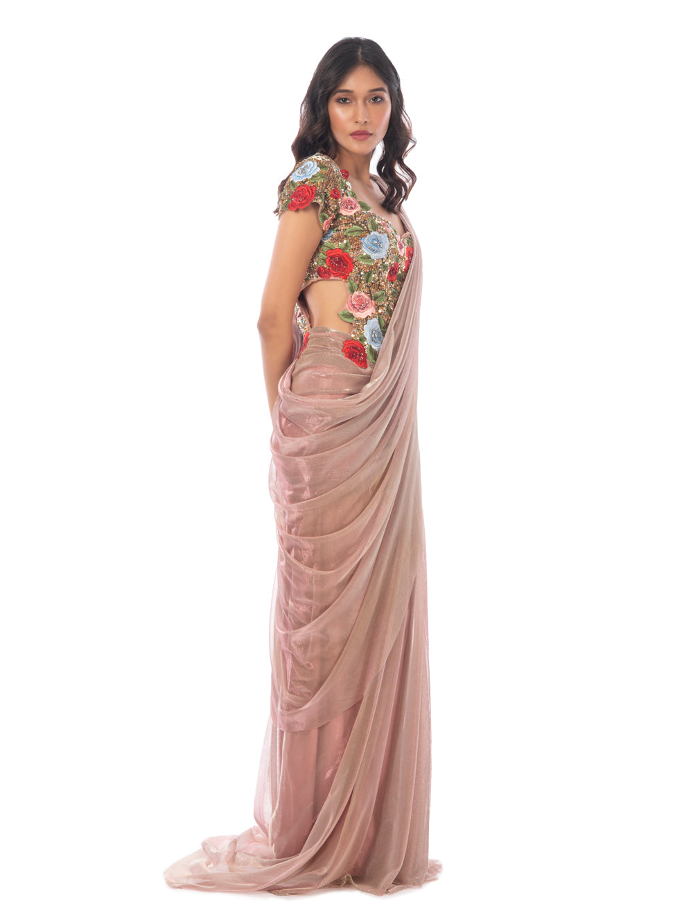 ROSE GARDEN SAREE