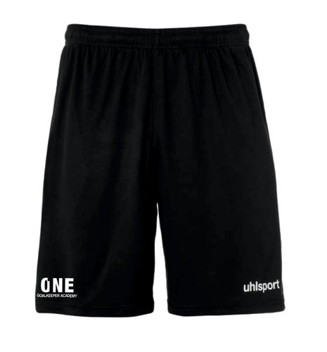 One Goalkeeper Academy Center Basic Short (Black)