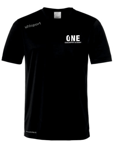 One Goalkeeper Academy Essential Training Shirt (Black)