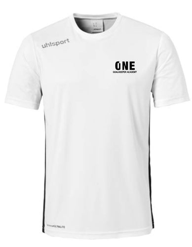 One Goalkeeper AcademyEssential Training Shirt (White)
