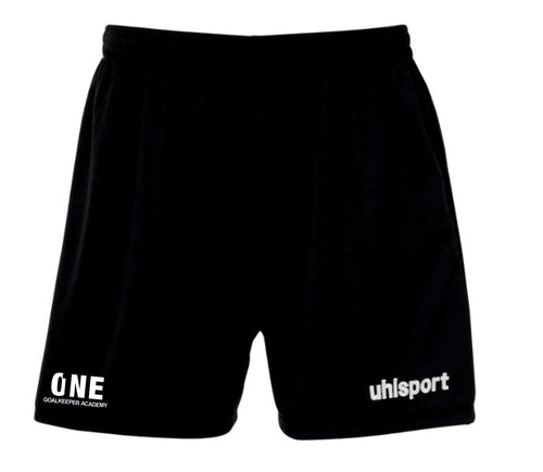 One Goalkeeper Academy Womens Center Basic Short (Black)