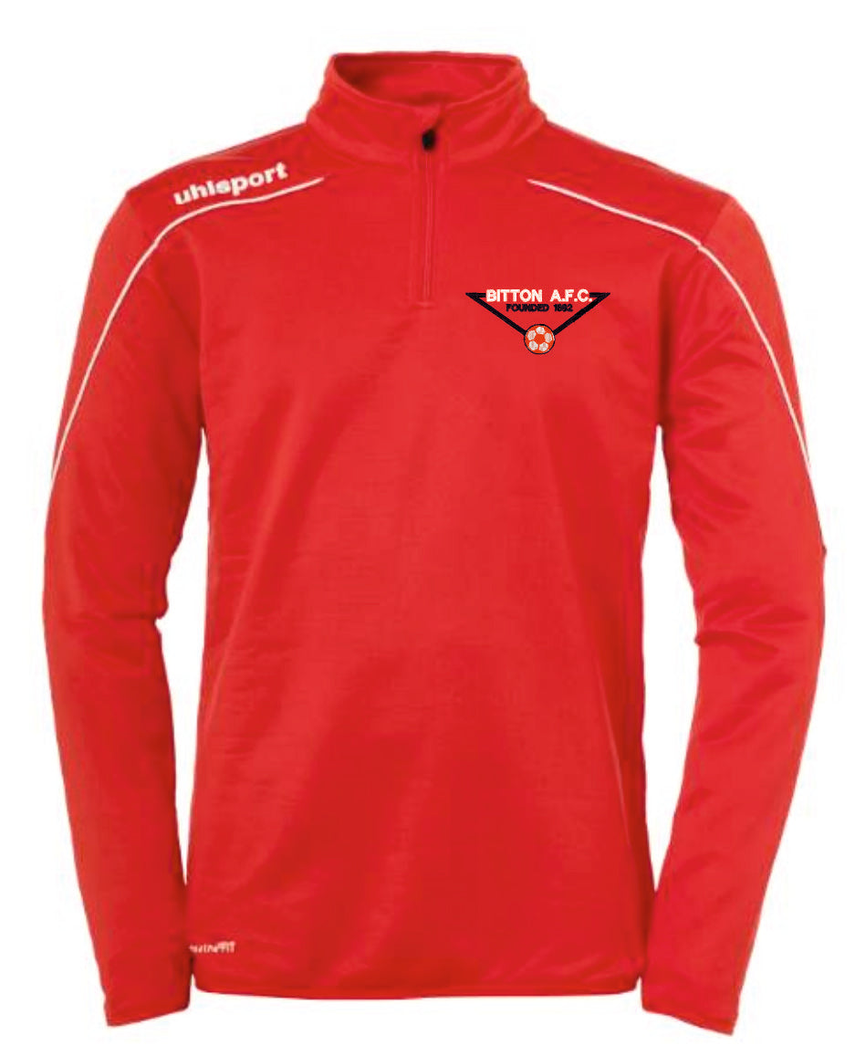 Bitton AFC Stream 22 1/4 Zip Top (Red)