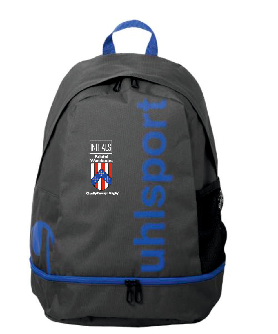Bristol Wanderers Essential Backpack (Anthra/Blue) Inc Initial