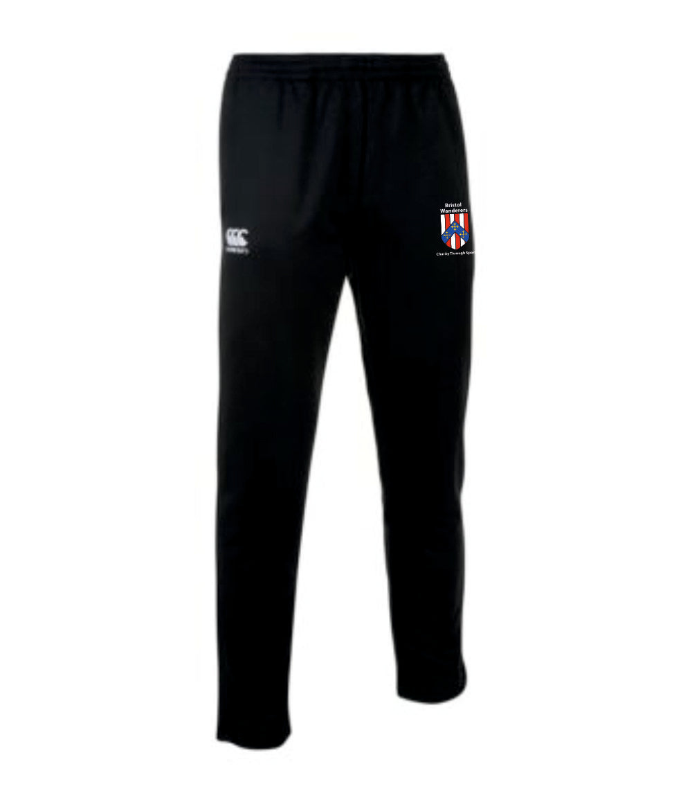 Bristol Wanderers Charity Through Sport Canterbury Stretch Tapered Pants (Black)
