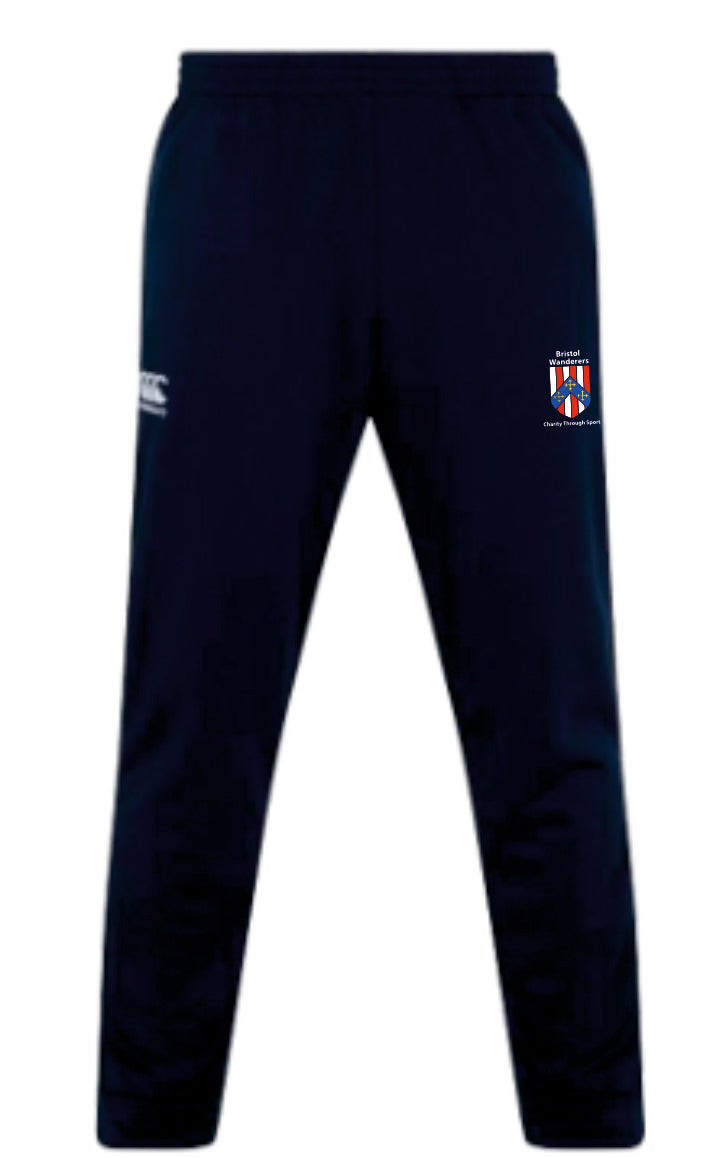 Bristol Wanderers Charity Through Sport Canterbury Stretch Tapered Pants (Navy)