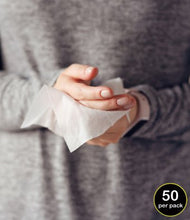 Load image into Gallery viewer, Biodegradable Disinfectant Wipes - 1 PACK = 50 WIPES