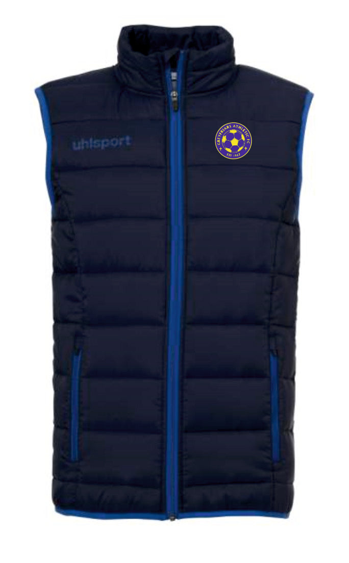 Greyfriars Athletic FC Essential Ultra Light Down Vest Inc Initials