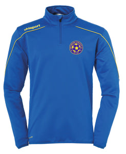 Greyfriars Athletic FC Stream 22 1/4 Zip Top Inc Initials