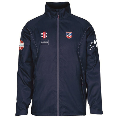 Hambrook CC Grey Nicholls Storn Training Jacket Navy