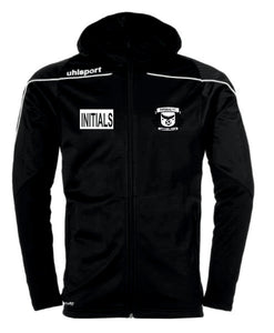 Imperial FC Stream 22 Track Hood Jacket (Black) Inc Initials