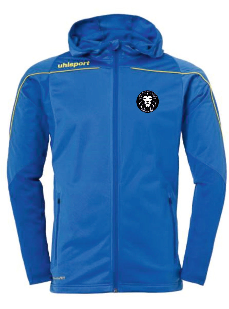 Longreach Athletic FC Stream 22 Track Hood Jacket Inc Initials
