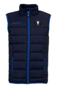 Longreach Athletic FC Essential Ultra Lite Down Vest Inc Initials