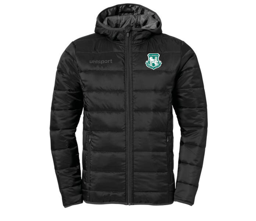 Street FC Essential Ultra Lite Down Jacket (Black)