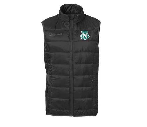 Street FC Essential Ultra Lite Down Vest (Black)