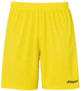 Centre Basic Shorts (Lime Yellow/Black)