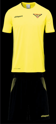 Bitton AFC Score Training Kit (Fluo Yellow/Black) Shirt and Short Set
