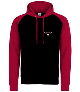 Bitton AFC Two Tone Hoodie (Black/Red)
