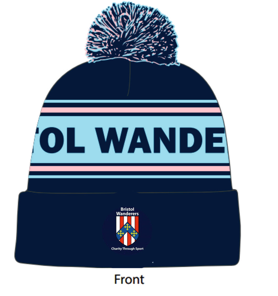 Bristol Wanderers Charity Through Sport Bobble Hat