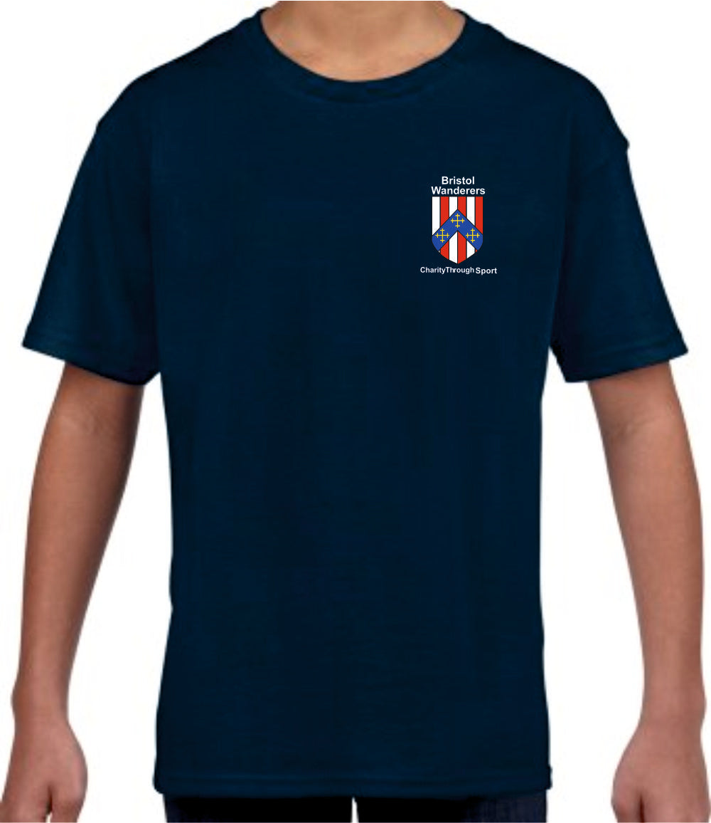 Bristol Wanderers Juniors T-Shirt (Navy)