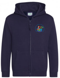 Friends of Frampton Cotterell Zip Hoodie (New French Navy)