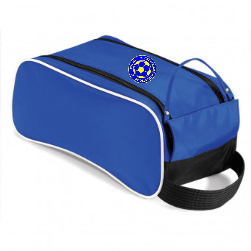 Greyfriars Athletic FC Boot Bag (Blue/Black/White)