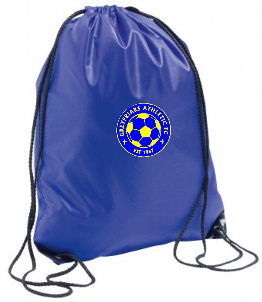 Greyfriars Athletic Gym Sack (Royal Blue)