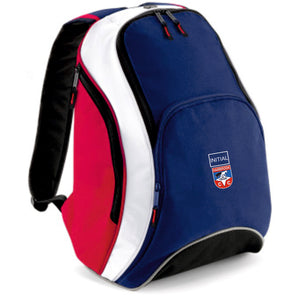 Hambrook CC Kit Backpack Inc Initial - Navy/Red/White