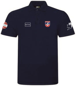 Hambrook CC Polo Shirt Navy