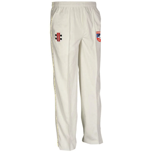 Hambrook CC Grey Nicholls Trousers White/Navy