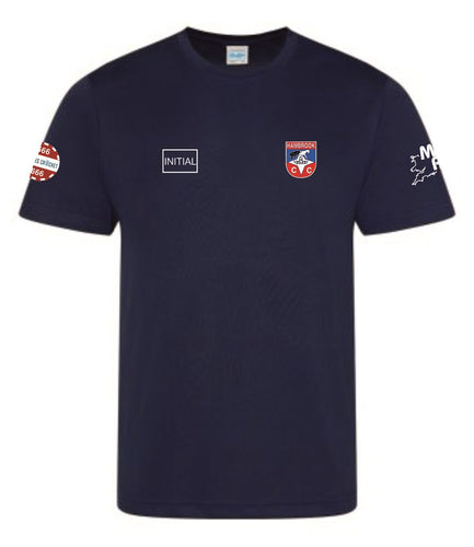 Hambrook CC Tech T-Shirt Oxford Navy