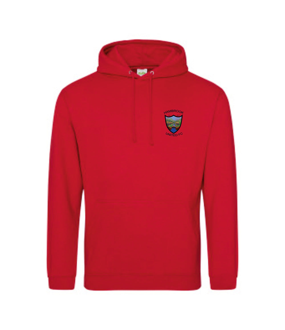 Hambrook United FC Hoodie - Fire Red