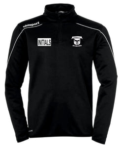 Imperial Stream 22 1/4 Zip Top (Black) Inc Initials