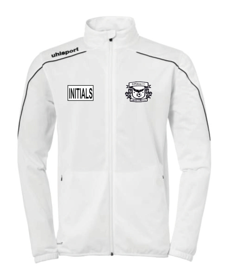 Imperial FC Stream 22 Classic Jacket (White) Inc Initial
