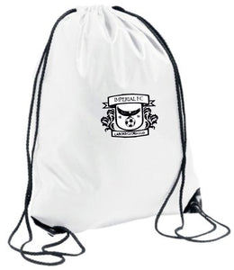 Imperial F.C. Gym Sack (White)