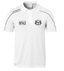 Imperial FC Stream 22 Polo Shirt (White) Inc Initial