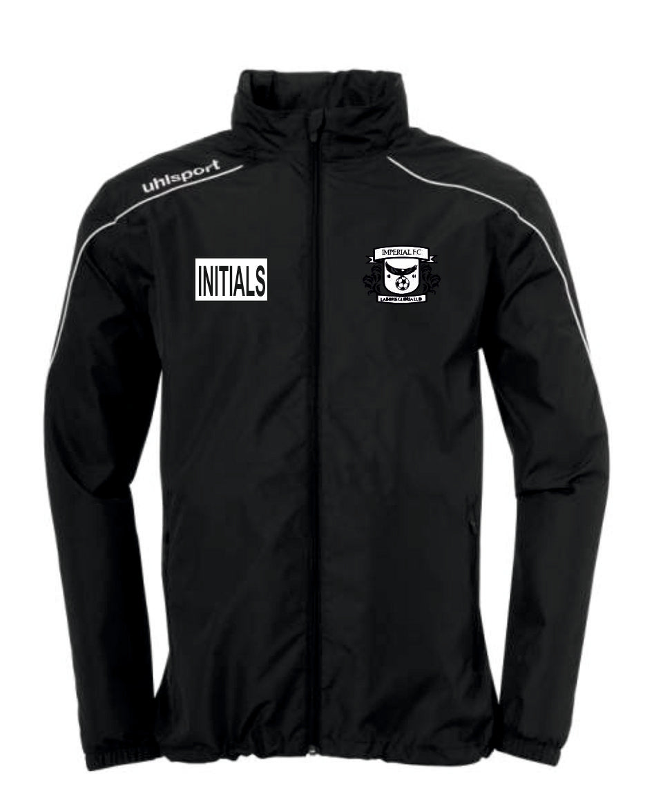 Imperial FC Stream 22 All Weather Jacket (Black) Inc Initials