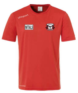 Imperial FC Essential Training Shirt (Red/White) Inc Initials