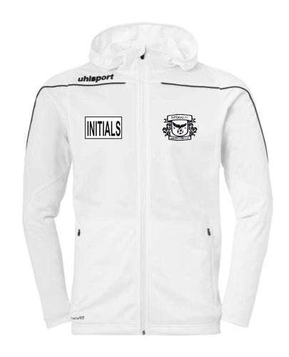 Imperial FC Stream 22 Track Hood Jacket (White/Black) Inc Initials