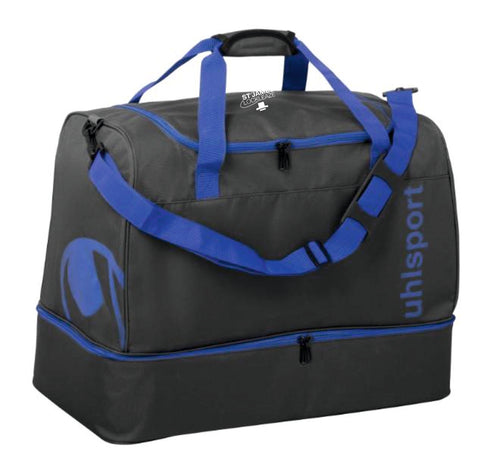 ST James Lockleaze FC Essential Players Bag 50L (Blue) Inc Initials