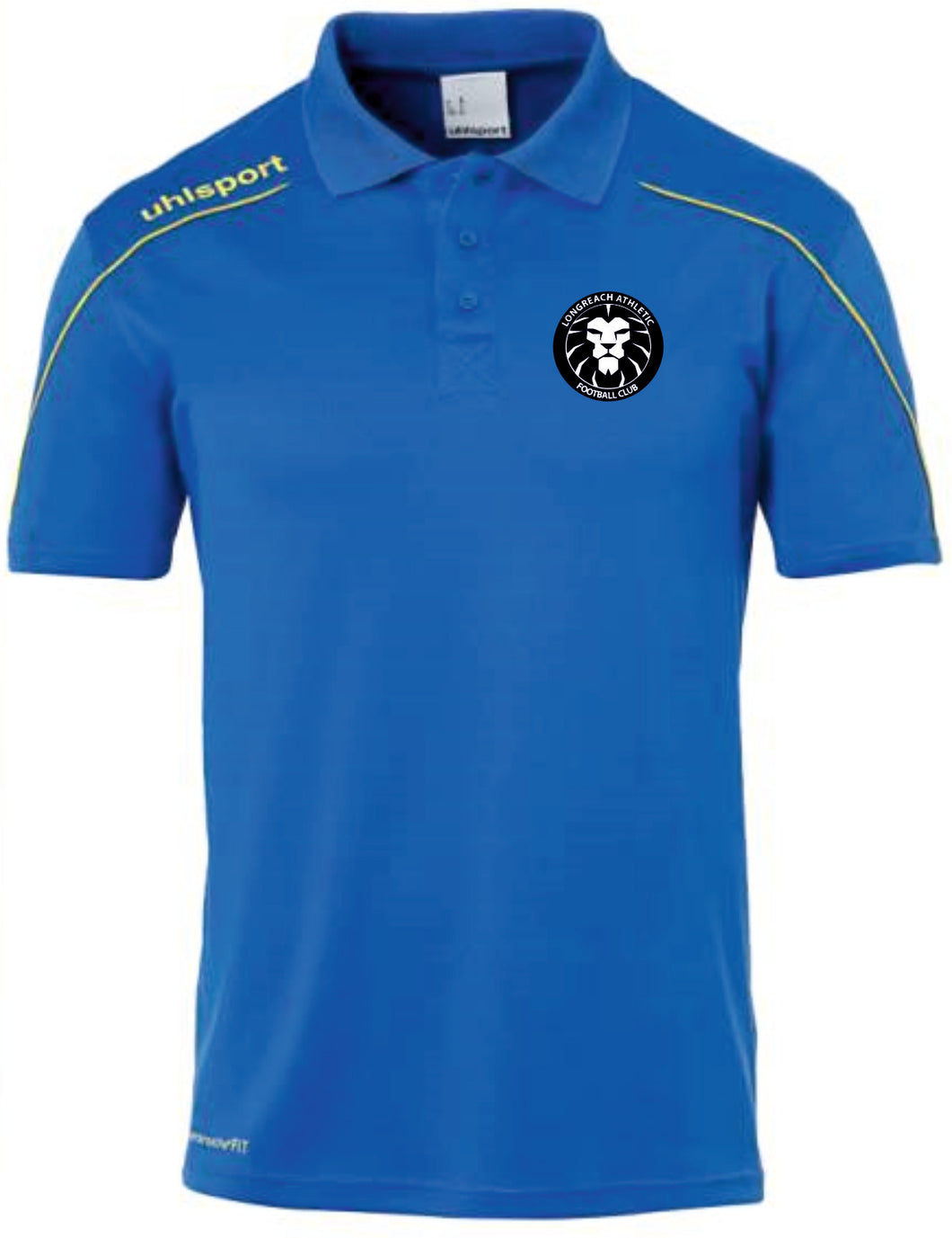 Longreach Athletic FC Stream Polo Shirt Inc Initials