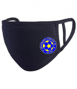 Greyfriars Athletic F.C. Premier Washable 2-Ply Face Cover (Black)