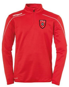 Moors Youth Stream 22 1/4 Zip Top (Red)