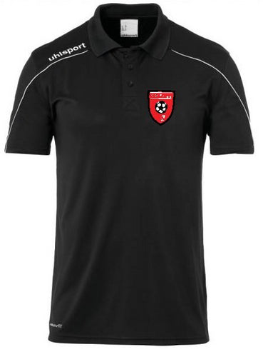 STOCK SALE!!! Moors Youth Stream 22 Polo (Black)