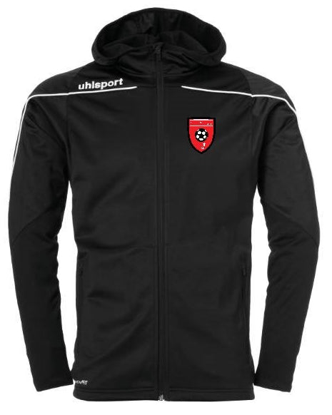Moors Youth Stream 22 Track Hood Jacket (Black) Inc Initials
