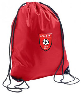 Moors Youth F.C. Gym Sack (Red)