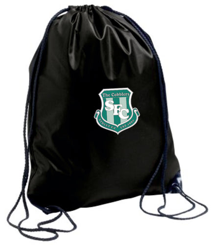 Street FC Gym Sack (Black)
