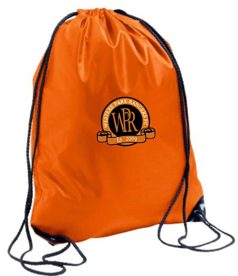 Westexe Park Rangers F.C. Gym Sack (Orange)