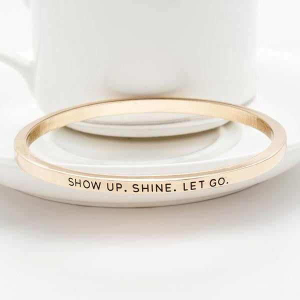 Show Up & Shine Bangle
